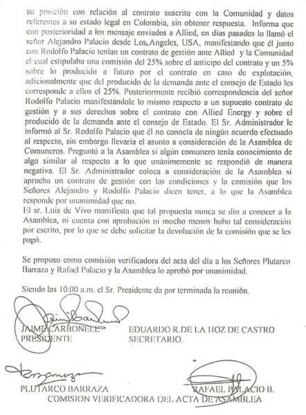copia de extractos del acta de la asamblea de corintuba 2002